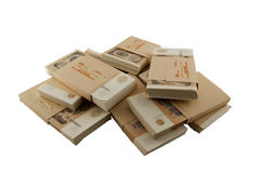 Packs of the Soviet rubles. 1991 year Royalty Free Stock Photos