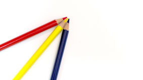 Packshot colored pencils Royalty Free Stock Photography
