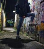 Packwagen alte Skool-Schuhe stockfotografie