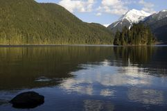 Packwood Lake, Washington state Stock Image