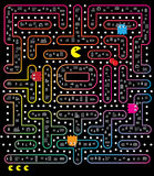 Pacman lek Royaltyfria Foton