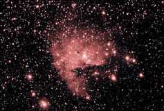 PacMan Nebula ngc281 Royalty Free Stock Photos