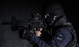 PACNIĘCIE oficer Fotografia Stock