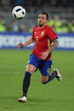 Paco Alcacer. Francisco Paco Alcacer Garcia striker of the Spanish National Football Team, pictured during the friendly match between Romania and Spain, played royalty free stock image