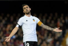 Paco Alcacer laments Stock Photography