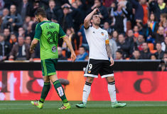 Paco Alcacer laments Royalty Free Stock Photo