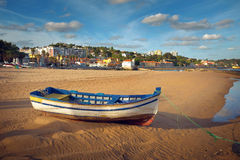 Paco dArcos beach Royalty Free Stock Image