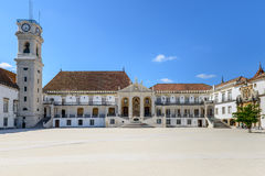Paco das Escolas, universidad, Coímbra (Portugal) Imagen de archivo libre de regalías