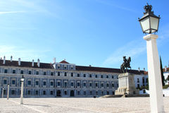 Paco Ducal de Vila Vicosa, Portugal. The ducal palace of Vila Vicosa is a royal hunting palace that belonged to the Dukes of Braganca. The facade of this Stock Photos