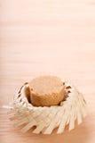 Pacoca -碎花生巴西糖果  库存照片