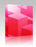 Pacote cúbico da caixa dos blocos Foto de Stock Royalty Free
