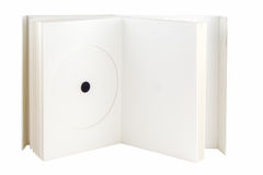 Pacote cd-dvd do livro Foto de Stock Royalty Free