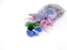 Pacote com pedras decorativas Imagens de Stock Royalty Free