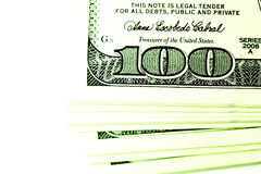 Pacote de dólares Imagens de Stock Royalty Free