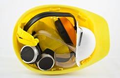 Pacote de equipamento de segurança Imagens de Stock