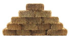 Pacote de Hay Wall Foto de Stock Royalty Free