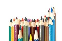 Pacote de lápis coloridos Imagens de Stock