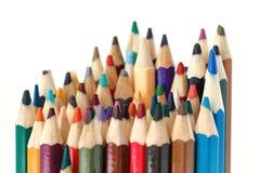 Pacote de lápis coloridos Foto de Stock Royalty Free