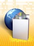 Pacote de software ilustração stock