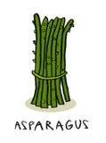 Pacote do aspargo Foto de Stock Royalty Free