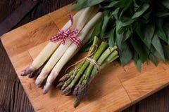 Pacote do aspargo Imagens de Stock Royalty Free