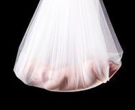 Pacote do bebê da cegonha Fotografia de Stock