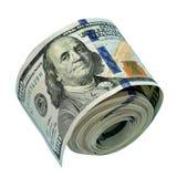 Pacote dos dólares americanos Imagem de Stock