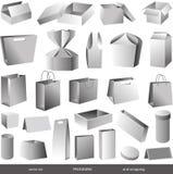 Pacotes Fotografia de Stock