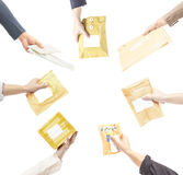 pacotes Imagem de Stock Royalty Free