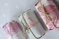 Pacotes bonitos Imagem de Stock