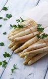 Pacotes brancos do aspargo Imagem de Stock Royalty Free