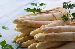 Pacotes brancos do aspargo Foto de Stock Royalty Free