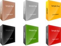 Pacotes das caixas Imagem de Stock