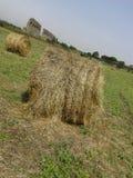 Pacotes de feno no countyside Imagens de Stock