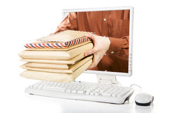 Pacotes do correio para você Imagens de Stock Royalty Free