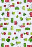 Pacotes do Natal Fotografia de Stock