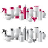 Pacotes dos cosméticos Fotos de Stock Royalty Free