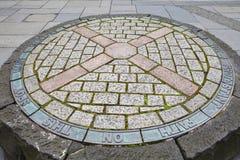 Pactantes conmemorativos en Edimburgo Fotos de archivo