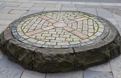 Pactantes conmemorativos en Edimburgo Foto de archivo libre de regalías