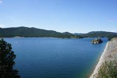 Pactola sjö Arkivbilder