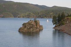 Pactola sjö Arkivfoto