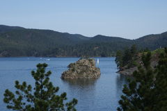 Pactola sjö Arkivbild