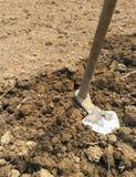 Pacul, strumento d'agricoltura tradizionale Fotografie Stock Libere da Diritti