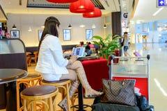 Pacyficzna Kawowa kawiarnia Zdjęcia Royalty Free