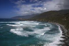 Pacyficznego oceanu kipiel obraz stock