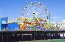 Pacyficzni koła Santa Monica California zlani stany Fotografia Royalty Free