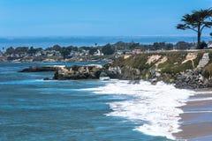 Pacyficzny gaju wybrzeże, Monterey, Kalifornia Zdjęcia Royalty Free