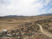 Pacyficzny grzebienia ślad, Południowy Kalifornia Fotografia Stock