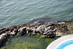 Pacyficzny ocean Santiago De Chile Obraz Royalty Free