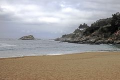 Pacyficzny ocean Santiago De Chile Zdjęcie Royalty Free